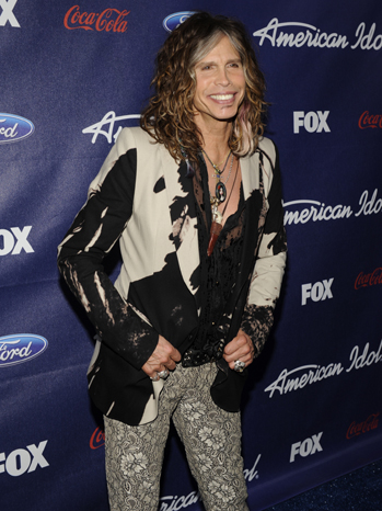 Steven Tyler Season 11 Top 13 Party P