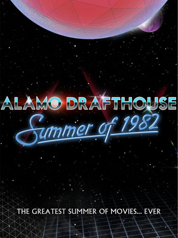 Alamo Drafthouse 'Summer of 1982' Poster 1 - 2012