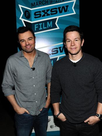 SXSW - Mark Wahlberg and Seth MacFarlane