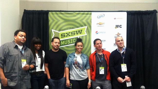 SXSW Hip Hop Panel - H 2012