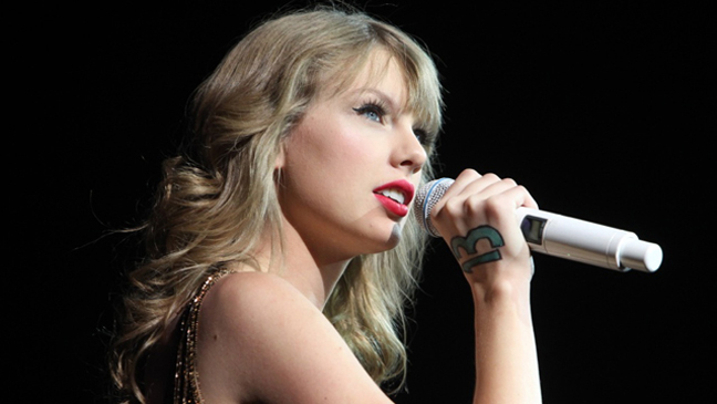 Taylor Swift New Zealand Hunger Games