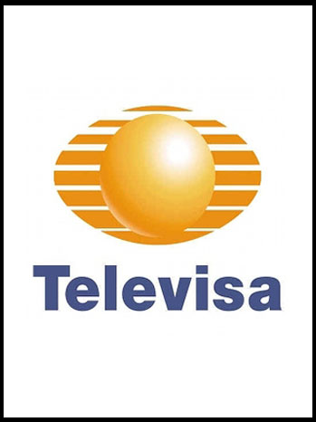 Televisa Mexican TV Station Logo - P 2012