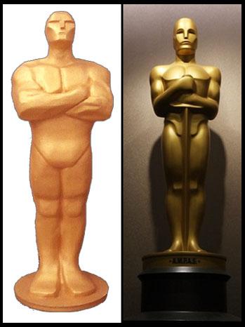 Telly Oscars Split - P 2012