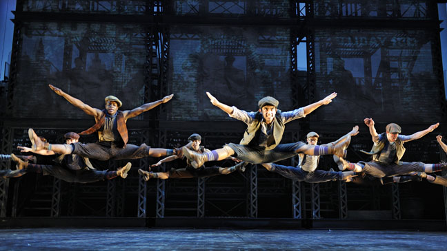 Newsies Ensemble - H 2012
