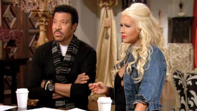 The Voice Christina Aguilera Lionel Richie 2012