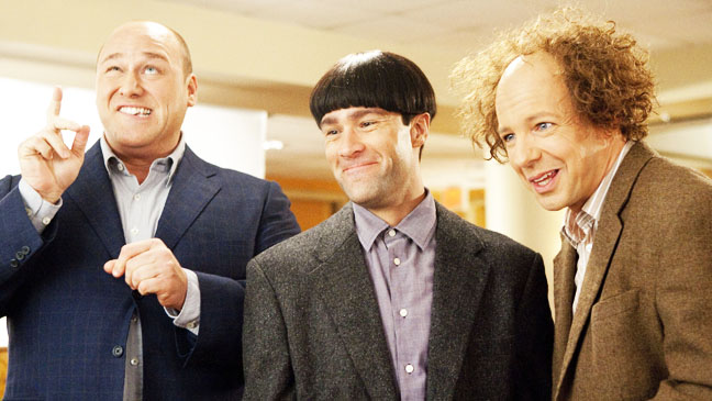 Three Stooges Will Sasso Sean Hayes Chris Diamantopoulos - H 2012