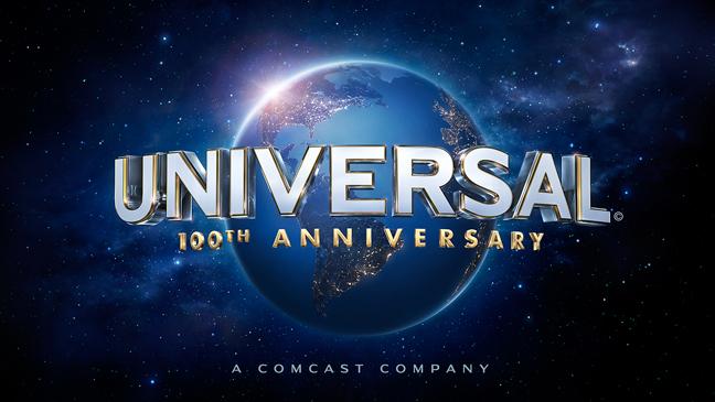 Universal Studios 100th Anniversary Logo - H 2012