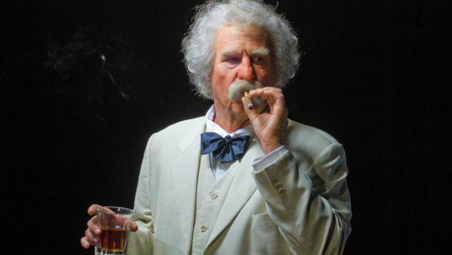 Val Kilmer as Mark Twain - H 2012