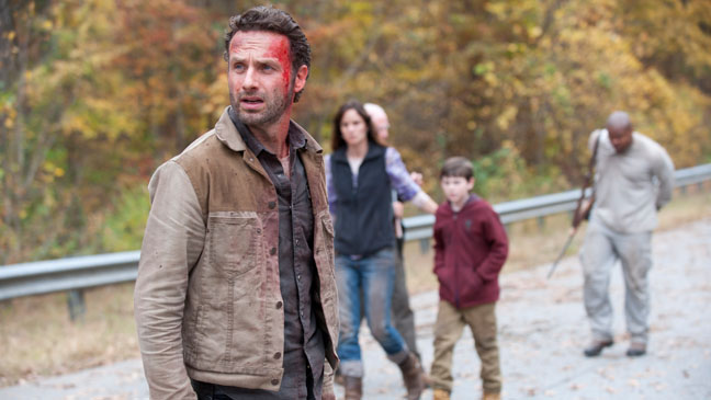 The Walking Dead Season 2 Finale Andrew Lincoln - H 2012