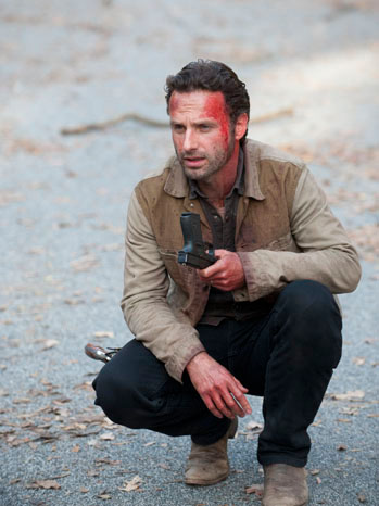 The Walking Dead Season 2 Finale Andrew Lincoln - P 2012
