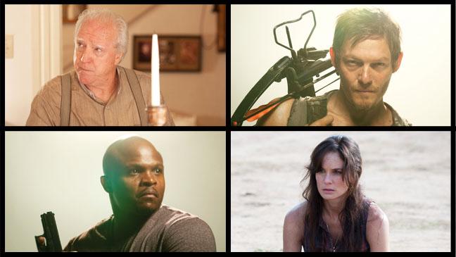 The Walking Dead 4 way Split Lori Herschel Daryl T-Dog - H 2012