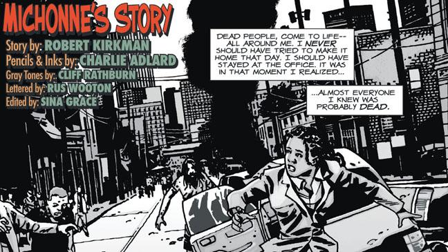 The Walking Dead Comic Michonne's Story - H 2012