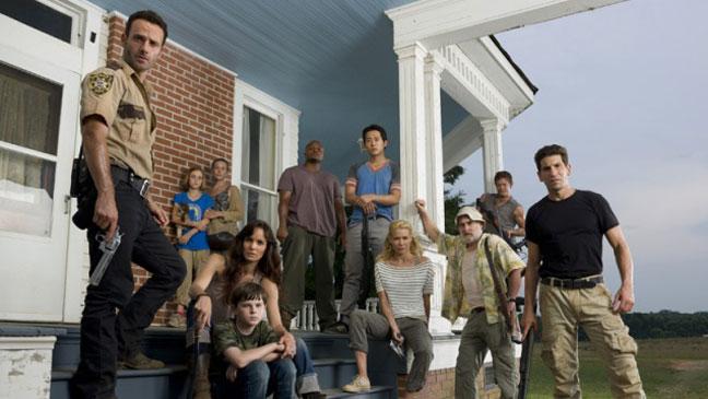 Walking Dead Cast - H 2012