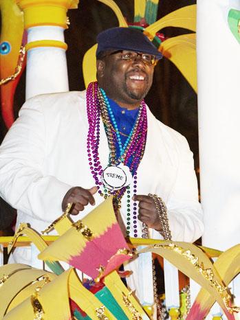 Wendell Pierce Mardi Gras - P 2012