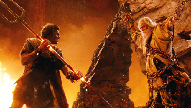 Wrath of the Titans Sam Worthington Liam Neeson - H 2012