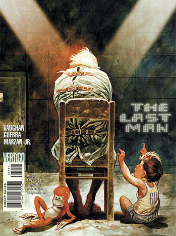 Y: The Last Man Comic Book Cover - P 2012