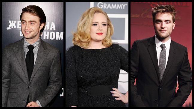 Pattinson Adele Radcliffe Split - H 2012