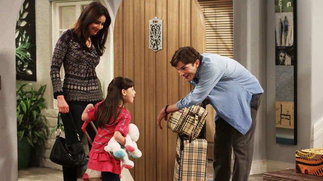 Two Half Men Kutcher Mr. Horse Says Yes - H 2012