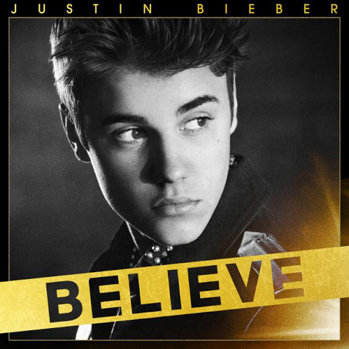 Justin Bieber Believe album cover P