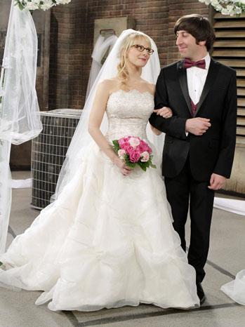 Big Bang Theory Wedding TV Still - P 2012