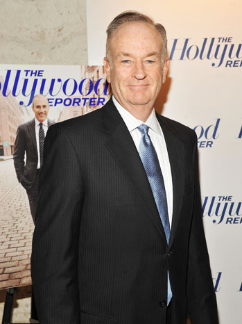 Hollywood Rpoerter 35 Most Powerful Bill O'Reilly - P 2012