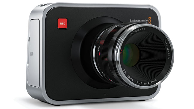 Blackmagic Cinema Camera - H 2012