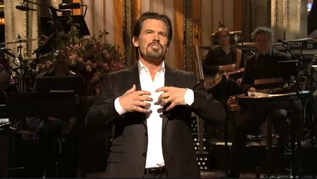Josh Brolin Saturday Night Live 2012