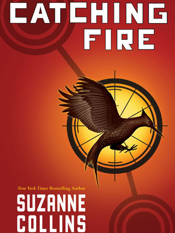 Catching Fire Book Cover 2012