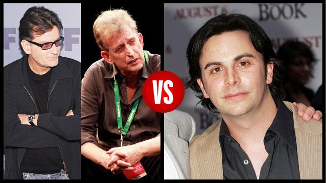 Charlie Sheen Joe Roth vs Jason Shuman Split - H 2012