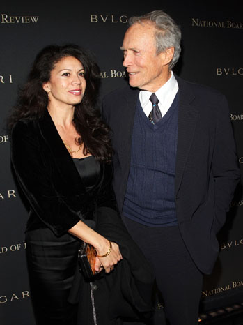 Clint and Dina Eastwood - P 2012