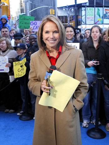 Katie Couric Good Morning America Outside - P 2012