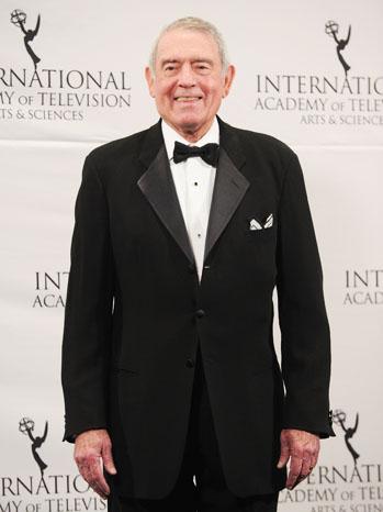 Dan Rather Emmy Awards Press Room - P 2012