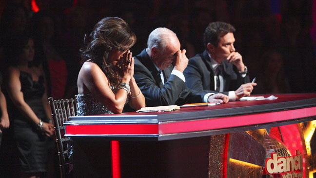Dancing with the Stars Judges Dissappointed - H 2012