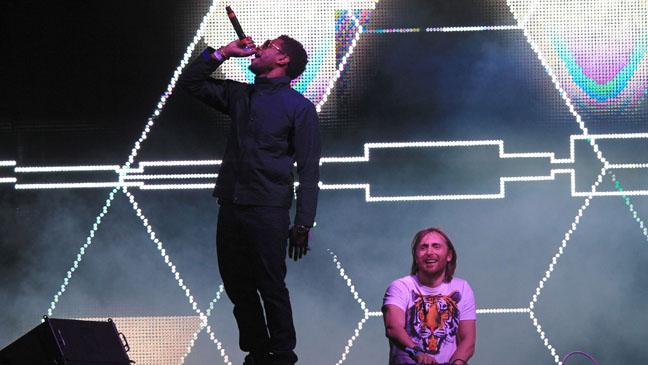 Usher and David Guetta