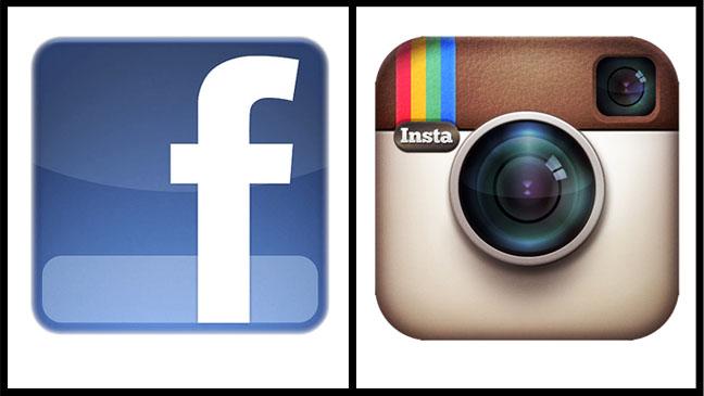 Facebook Instagram logo Split - H 2012