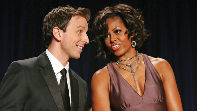 2012-15 FEA Dinner Seth Meyers Michelle Obama H