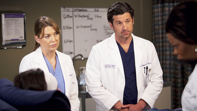 Grey's Anatomy The Girl with No Name Dempsey Pompeo 2 - H 2012