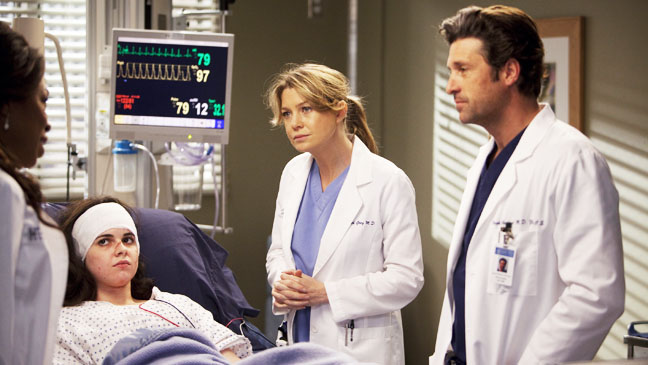 Grey's Anatomy The Girl with No Name Dempsey Pompeo - H 2012