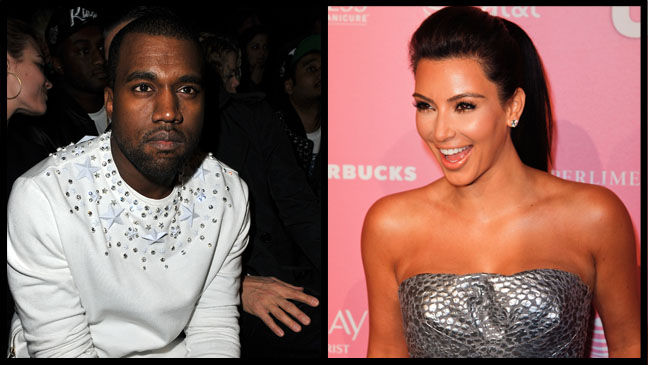 Kanye West Kim Kardashian Split - H 2012