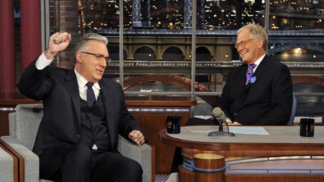 Keith Olbermann David Letterman Late Show CBS - H 2012