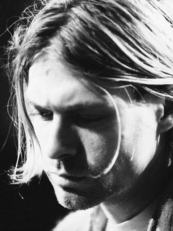 Kurt Cobain Unplugged Black/White - P 2012