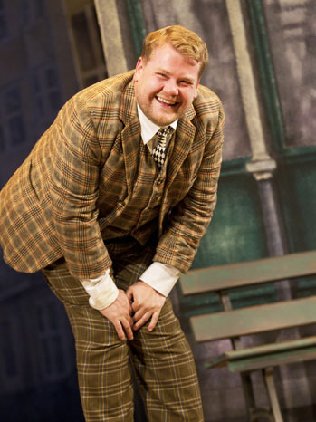 One Man, Two Guvnors James Corden - P 2012
