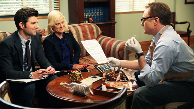 Parks and Recreation LIVE AMMO Amy Poehler Bradley Whitford - H 2012