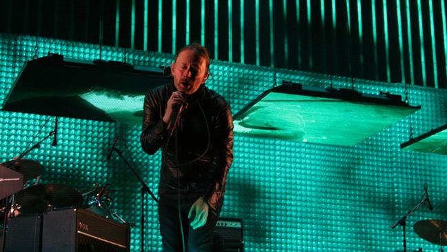 Coachella 2012 - Radiohead Thom Yorke
