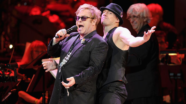 Concert For The Rainforest Fund Elton John Channing Tatum - H 2012