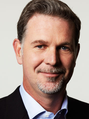DOWN: Reed Hastings