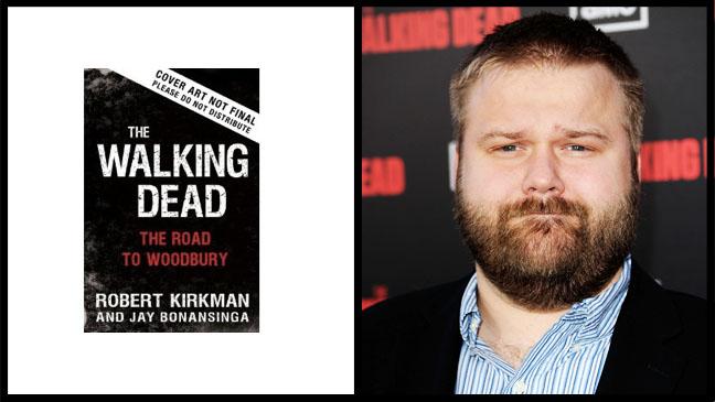 robert kirkman road to woodbury cover split - h 2012