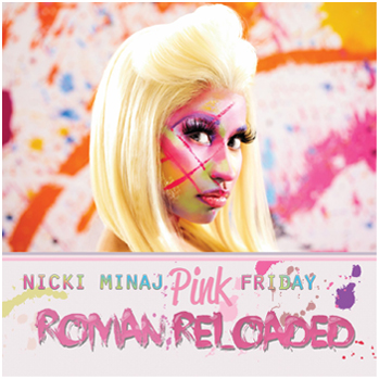 Nicki Minaj Roman Reloaded cover art P