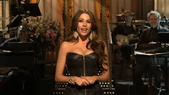Sofia Vergara SNL April 2012