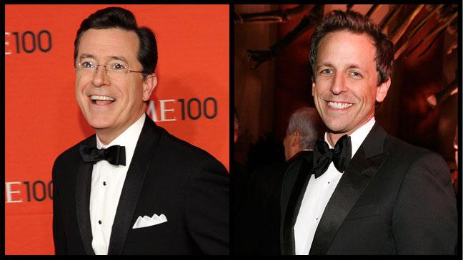 Stephen Colbert Seth Meyers - H 2012